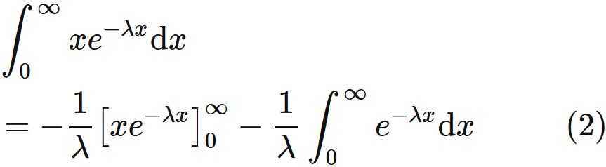 How to find the expectation value of the exponential